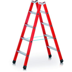 Zarges Kunststoff-Stufenleiter EFAmix B, max. Arbeitshöhe: 470 cm