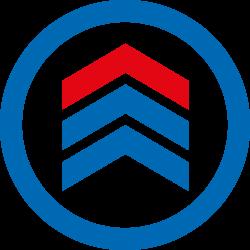 Hymer Stufenstehleiter 6024, 2x2 Stufen