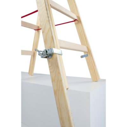 Fußverlängerung für Holz-Sprossenstehleitern